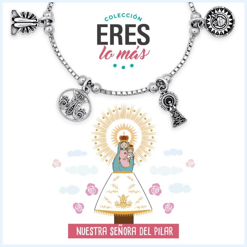 Pulsera Virgen del Pilar Eres lo más